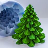 Силиконовая форма Ёлка-2 3D, 150 гр