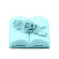 Силиконовая форма Книга с розами, 115 гр