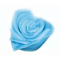 Силиконовая форма Роза-сердце, 125 гр