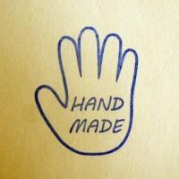 HandMade(ладошка), силиконовый штамп