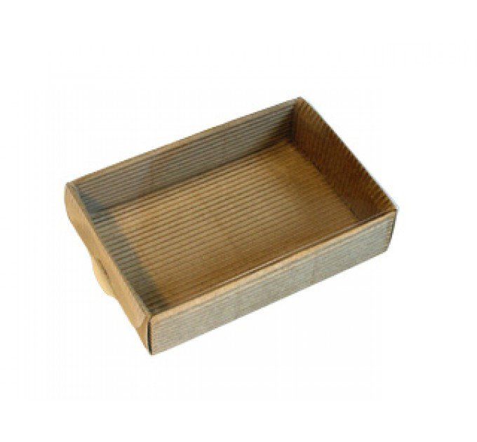 Коробка крафт с окном, 10х8х3 см