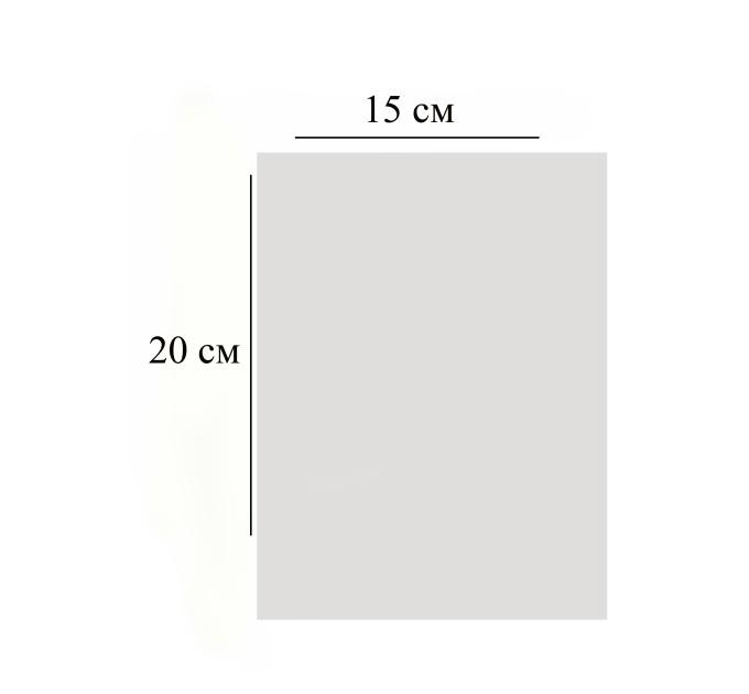 Пакет  прозрачный, 15х20 см, 10 шт